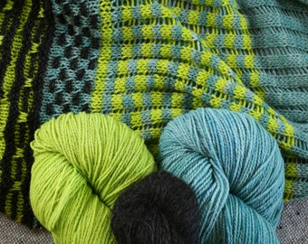 Targhidean Shawl yarn set: includes yarn needed to complete but pattern is NOT included