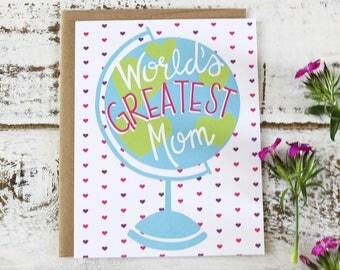 World's Greatest Mom - Card