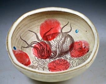Sea Monster Side Dish with Red Spots