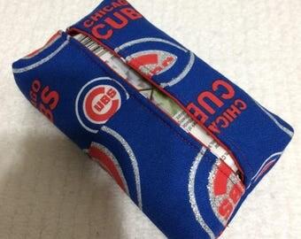 Chicago Cubs Kleenex tissue holder case