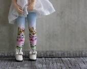 Easter Bonnet Blythe Doll Stockings