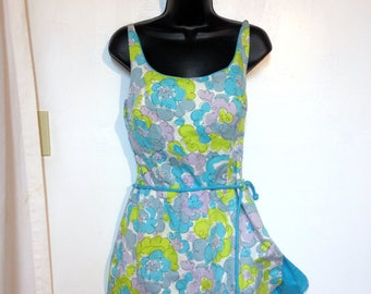 Vintage Swimsuit Cole of California Size M to L Romper