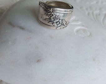 QueenBess Spoon Ring Made to order
