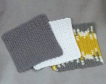 Dish cloths Wash cloths 100% cotton