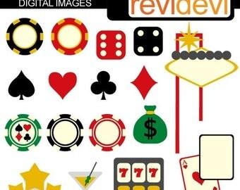 35% OFF SALE Viva Las Vegas 07293 - Digital Images - Commercial use clipart - Graphic design by revidevi