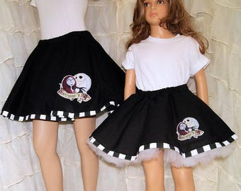 NMBC Jack and Sally Circle Skirt Adult ALL Sizes - MTCoffinz