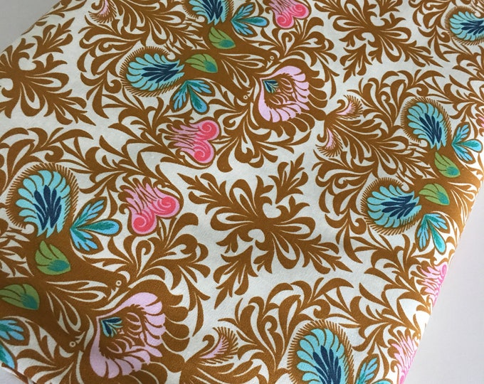 Amy Butler fabric, Soul Mate, Etsy Gift Idea, Gift for Quilter, Baby Quilt, Quilting fabric, It Takes Two in Bone - Choose the cut