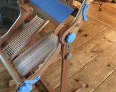 """Ashford rigid heddle loom, extra heddles, shuttle sicks,  gentle used with stand, retail value 450.00 12"""" width"""