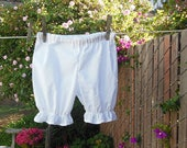 Two toddler tops and one pair of bloomers