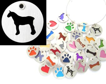 Clydsedale Horse Sterling Silver Necklace Pendant Charm - Lots of Colors
