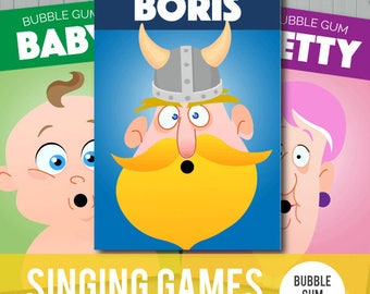 Singing Time Games: Bubble Gum Multi Pack