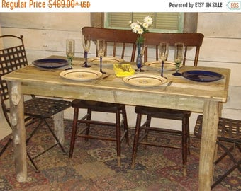 "ON SALE Driftwood Dining Room Table (54"" x 30"" x 29""H)"