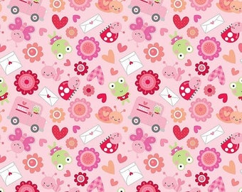 20EXTRA 40% OFF Lovebugs Friends Pink