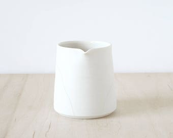 Mishima porcelain pourer.