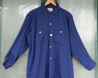 Vintage Men's Long Sleeve Shirt by Arrow New Old Stock 16 1/2