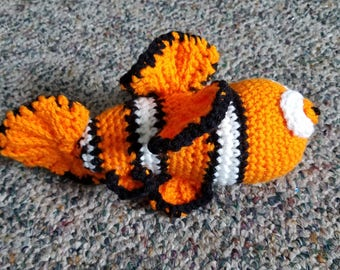 Nemo Inspired Soft Toy
