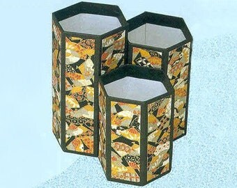Washi Paper Pen/Pencil Holder (Stand)