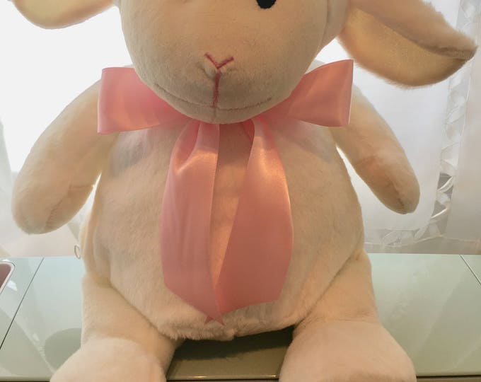 Personalized Plush Cubbie Lamb for Boy or Girl