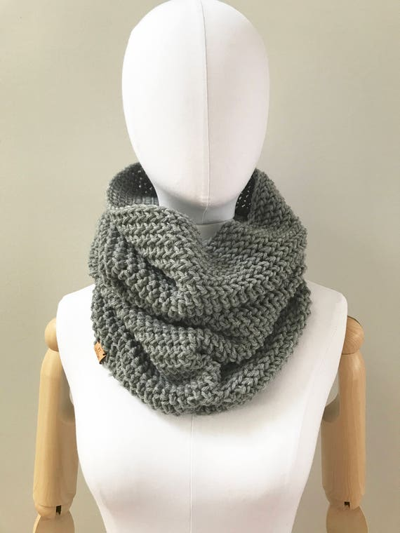 Wool Infinity Cowl Neck Warmer