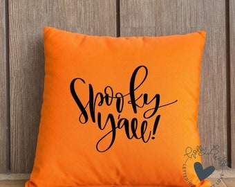 Spooky Yall SVG | Southern SVG for Halloween | Halloween SVG File | Holly Pixels svg Designs | Yall Cut File | Funny Halloween Crafts
