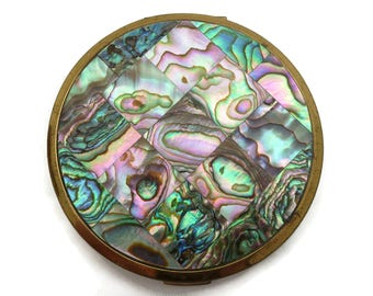 Elgin American Compact - Abalone Shell Lid AS IS