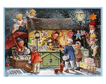 Advent Calendar Germany Christmas Christmas Shopping Out of Print   10092