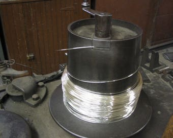 FREE Shipping 1 Oz. ( 48 Ft) 24G Sterling Silver Round Wire  DS ( .68/Ft With Free Shipping