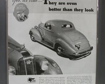 Pontica #107    Pontiac     Magazine Ad -  1935