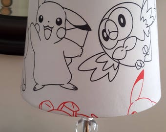 Pokemon Lamp Shade
