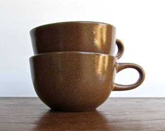 Edith Heath Pottery of California, 1 Teacup - 2 Available, Sand Gloss/Vellum Finish, Heath Coupe Line, American Modern Design