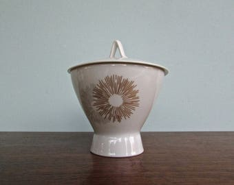 Sunburst Raymond Loewy Sugar-Bowl, Rosenthal Continental Form 2000, 7 Available -Rosenthal Germany