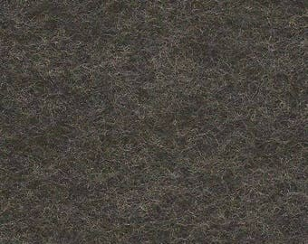 Smoke 35/65 Wool Blend Felt 12x18