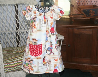 Little Cowgirl Dress  Size 1 available to ship and one more dress up to Size 6