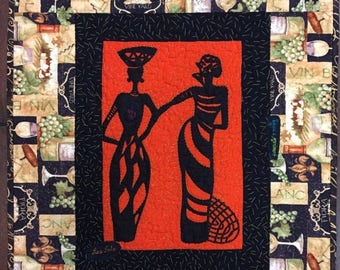 Festival Sale A Woman of Sophisticated Substance #11 art quilt