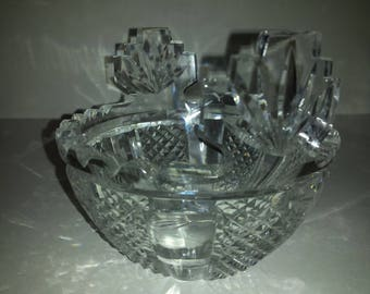 Waterford Candy Dish Etsy
