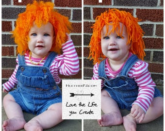 Inspired Chucky Doll Wig, all sizes