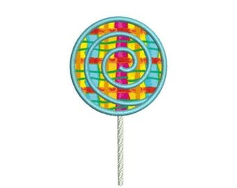 SALE 65% OFF Applique Lollipop Candy Machine Embroidery Designs 4x4 & 5x7 Instant Download Sale