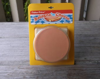 1987 Fisher Price Fun with Food Bologna 'n Cheese
