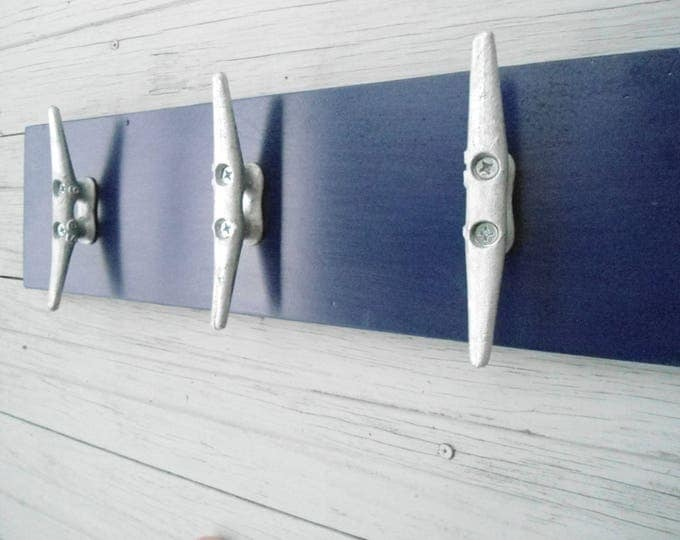4 LARGE boat cleats coat rack pool hot tub towels nautical farmhouse cabin fishing sailing mancave lake cottage BeachHouseDreams short board