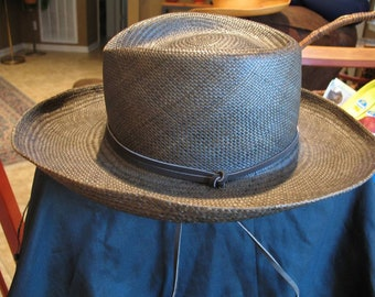 Vintage Woman's Betmar New York Straw Sun Hat Excellent