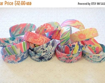 "BACK TO SCHOOL Preppy 2"" Wide Lilly Pulitzer Fabric Headband in Many Prints"