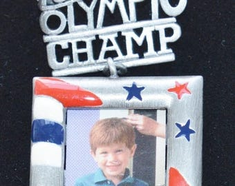"On sale Vintage Brooch, ""Future Olympic Champ"", Danecraft"