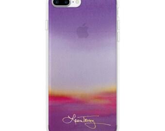 Laura Trevey iPhone6/7/8PLUS Case  - Purple Ombre