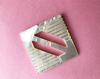 Vintage Large Shell Buckle