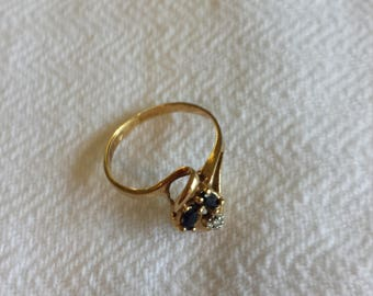 10k yellow gold ring size 4.75