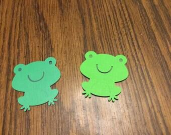 Frog die cuts