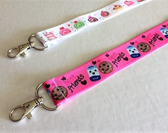 One Treats OR Best Friends Ribbon Lanyard