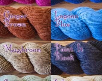 Cascade Venezia Sport Weight Silk/Wool Blend Yarn