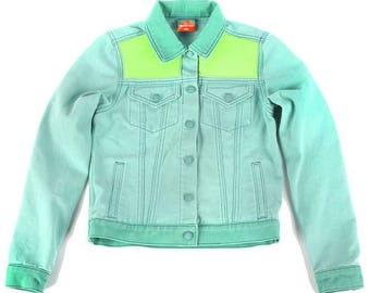 Women's Mint Denim Jacket
