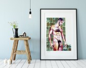 Gay Room Decor, Bedroom Prints, Gay Art Poster, Gay Art Print, Sexy Mens Gift, Gay Home Decor, Gay Art Printable, Love Prints Art, Wall Art
